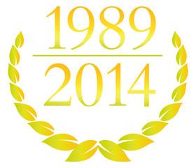 lorbeer jubiläum 1989 2014