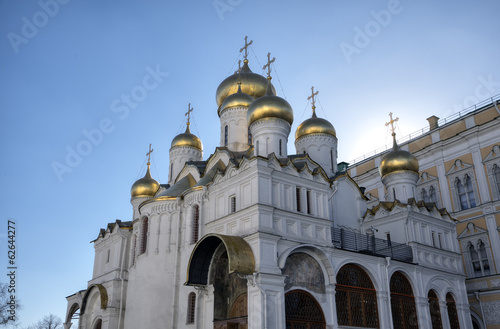 Cathedral of the Annunciation. Moscow Kremlin, Russia