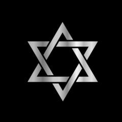 Silver Star of David- Jewish
