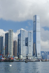 modern buildings in Hong Kong