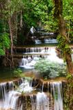 Huay mae kamin waterfall in Thailand