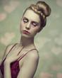 romantic valentines female portrait