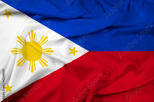 Waving Philippines Flag