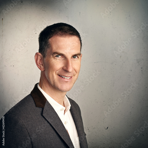portrait of smiling man