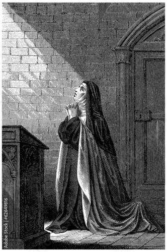 Nun Praying (Carmelite) - 18th century