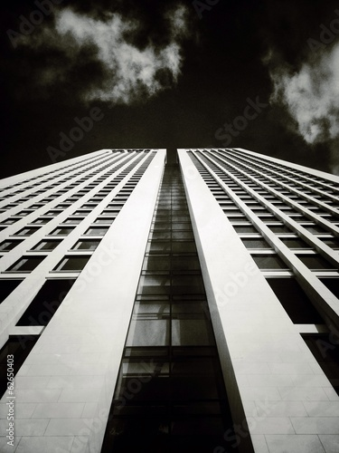 canvas print picture Hochhaus in Frankfurt am Main