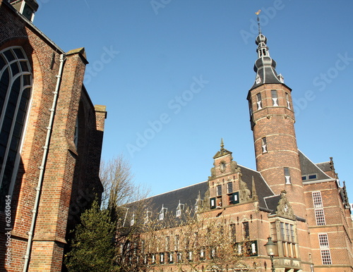 Province House and the back of the Martini Church in Groningen