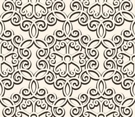 Vintage lace background, seamless pattern
