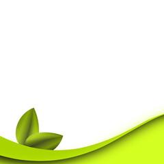 abstrakt background grün blatt welle