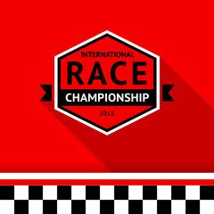 Racing badge 03
