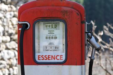 veille pompe à essence