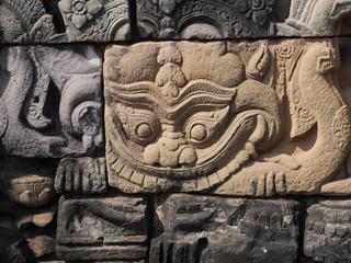 Kala Relief, Angkor, Cambodia