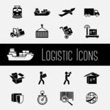 Supply Chain Icons Set - 62654233