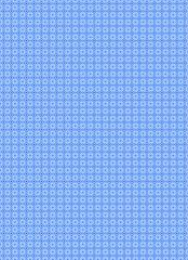 Muster Blaue Kreise