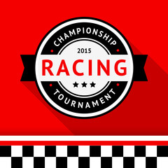 Racing badge 09