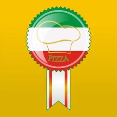 Italian pizzeria icon