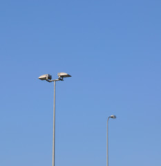 Street lighting.