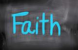 Fototapety Faith Concept