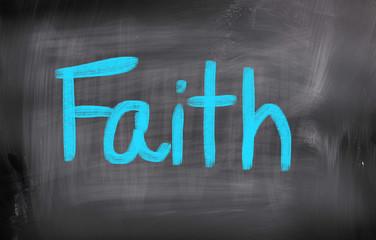 Faith Concept