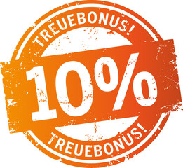 Treuebonus Button 10%