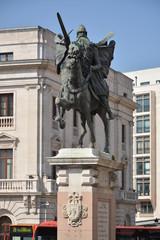 Monumento en honor a El Cid Campeador, Burgos, España