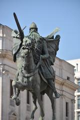 Estatua de El Cid Campeador, Burgos, España
