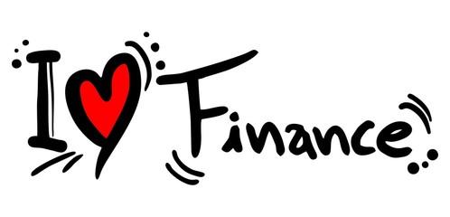 Finance love