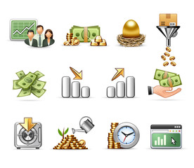 Money - Harmony icon set 09