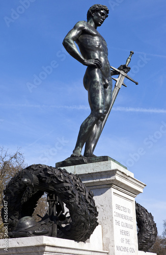 Machine Gun Corps Memorial in London