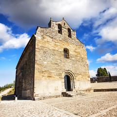 Romanesque church of Santiago in Villafranca del Bierzo, Spain