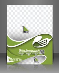 Pizza Shop Front Flyer & Poster Template