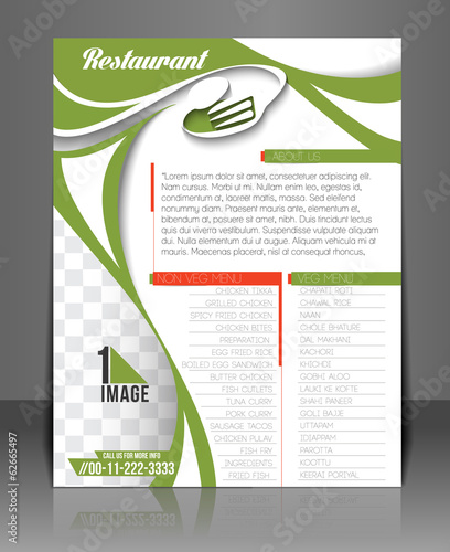 Pizza Shop back Flyer & Poster Template