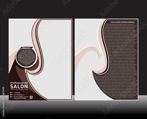 Professional Salon Flyer Template