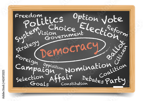 Democracy Blackboard