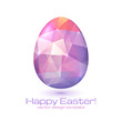 Abstract triangles vector egg