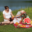 canvas print picture -  picnic
