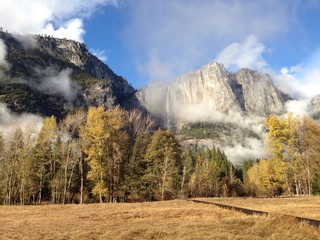 Fall season in Yosemite