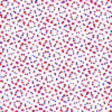 red and blue geometric background