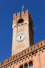 Civic Tower in Piazza dei Signori, Treviso, Italy