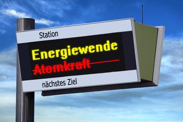 Anzeigetafel 3 - Energiewende