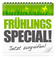 Frühlingsspecial! Button, Icon