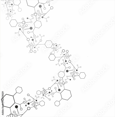 Molecule background