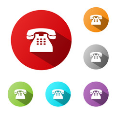 PHONE BUTTONS (hotline customer service contact help call us)