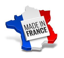 "Icône ""Made in France"" vectorielle 1"