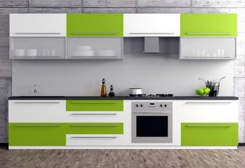 Grüne Küche