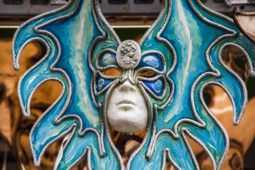 maschera al carnevale di Venezia,Italia