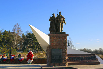 Monument to Soviet soldiers killed during World War II