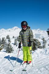 Bonheur de skier