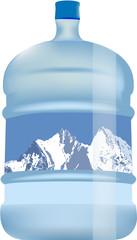 contenitore acqua potabile