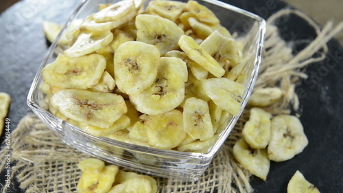 Portion of dried Banans (not loopable)